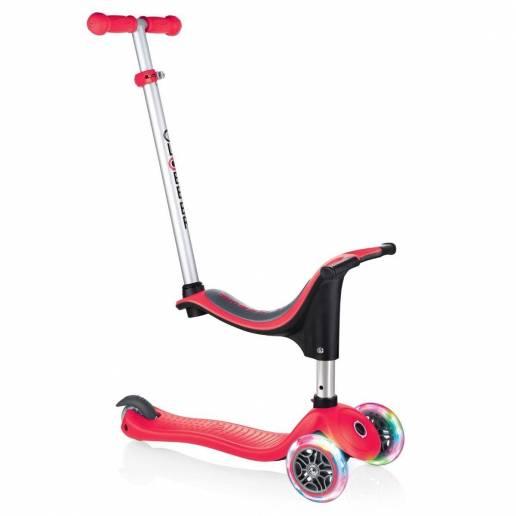 copy of Globber GO-UP Sporty Lights / Deep pink 2021 - Skrejriteņi ar trīs riteņiem