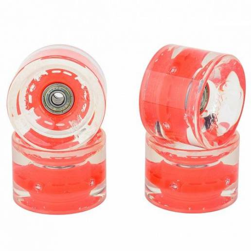 SUNSET SKATEBOARDS Long Board Wheel With Abec9 SS Red 69 mm - Longboards